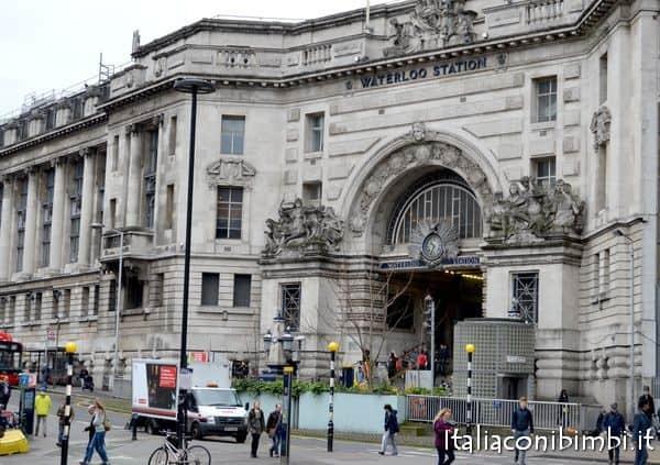 Stazione di Waterloo Londra