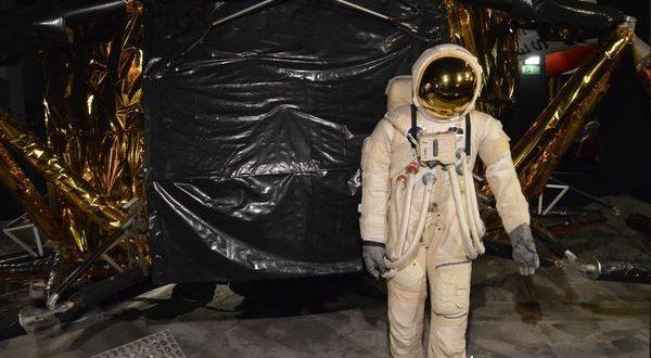 astronauta al museo della scienza di Londra