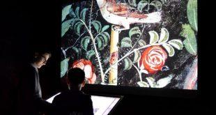immagini da sfogliare al museo archeologico di Ercolano