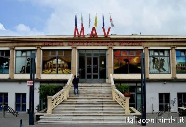 ingresso MAV museo archeolgico di Ercolano