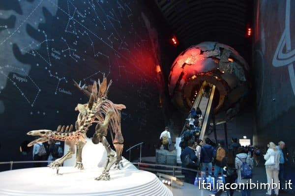 ingresso museo di storia naturale