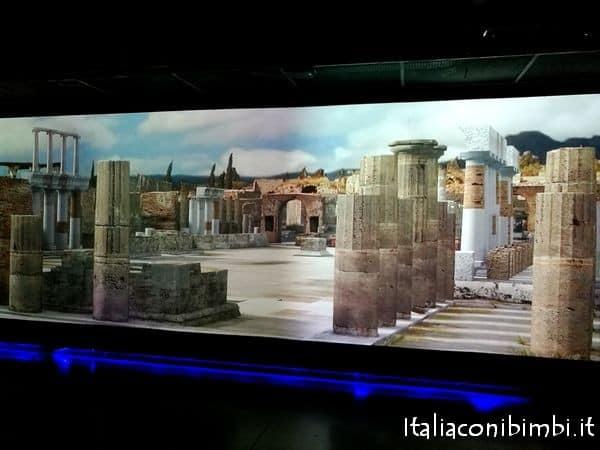video al museo archeologico di Ercolano