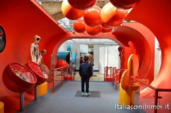 museo di storia naturaledi Londra sezione sul corpo