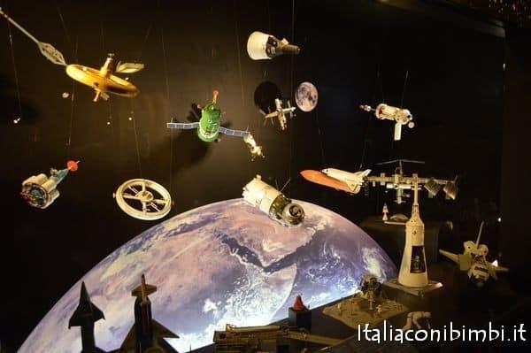spazio al museo della scienza di Londra