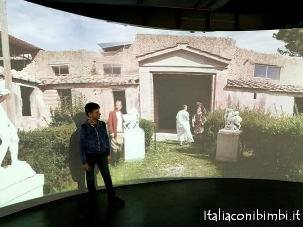 Video 360 al MAV museo archeologico di Ercolano