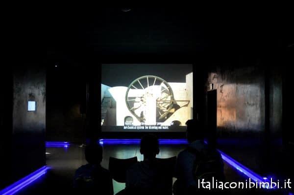 video museo archeologico di Ercolano