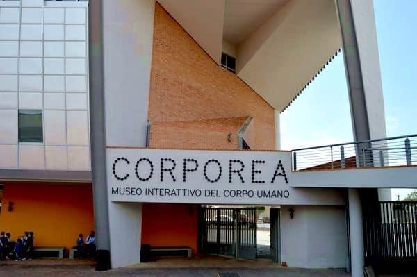 Corporea museo interattivo del corpo umano Napoli