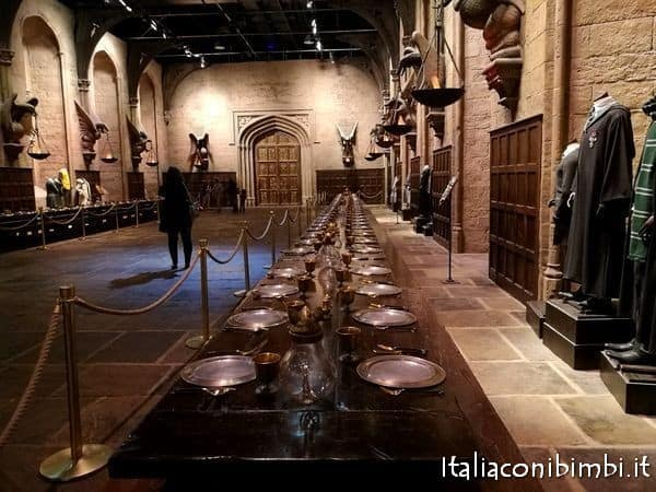 Great Hall Harry Potter Studios
