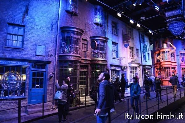 Negozi in Diagon Alley