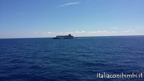 a largo del golfo di Olbia