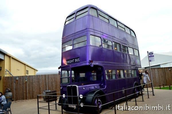 bus notturno Harry Poter Studio tour