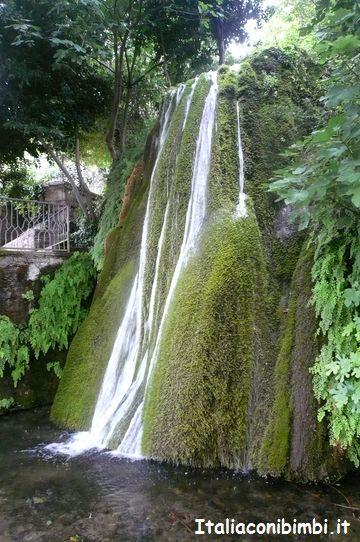 cascata di Sadali in Sardegna