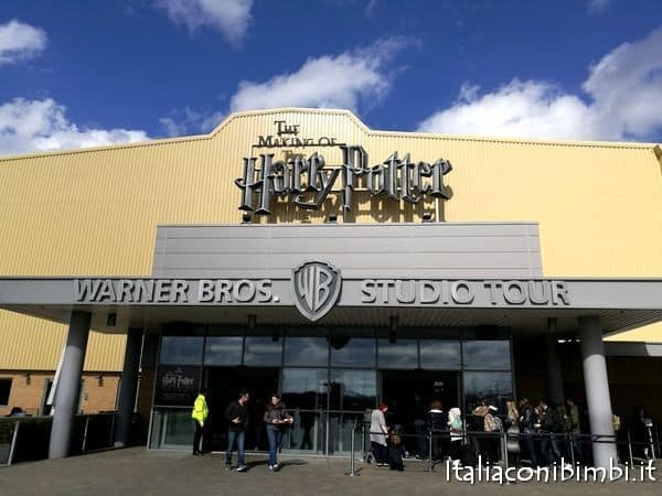 ingresso Warner Bros Studio Tour Londra