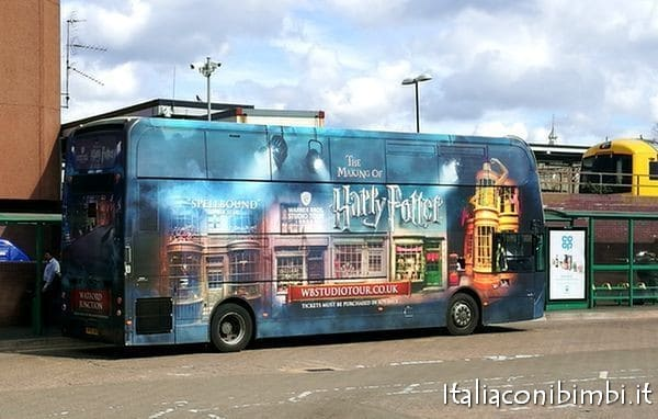 navetta per gli Harry Potter Studios da Waterford Junction