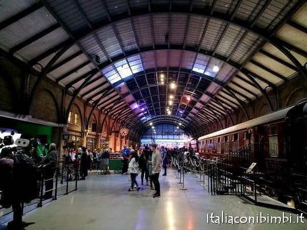 stazione agli Harry Potter Studios