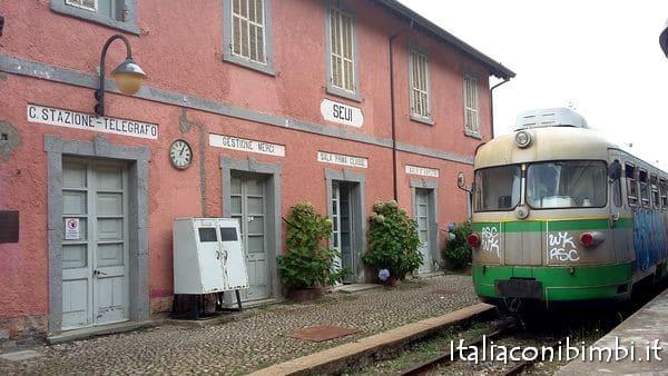 trenino verde a Seui