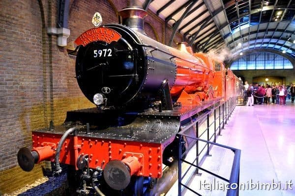 treno Harry Potter Studios