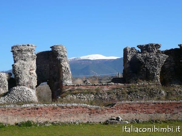 Gli scavi di Amiternum a L'Aquila
