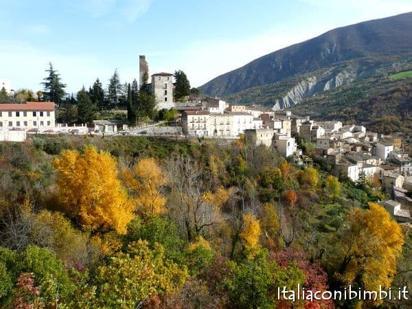 Valle del Sagittario in autunno
