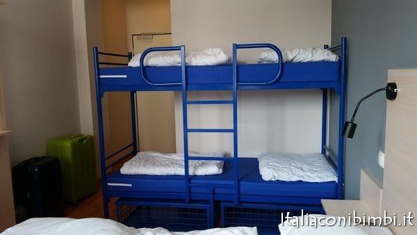 camera da letto ostello Monaco