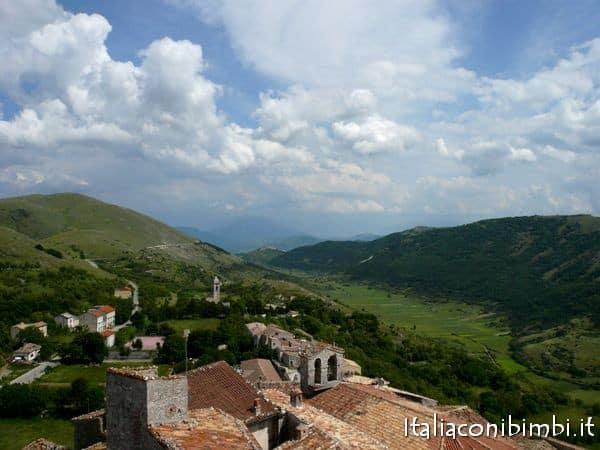 panorama da Santo Stefano di Sessanio
