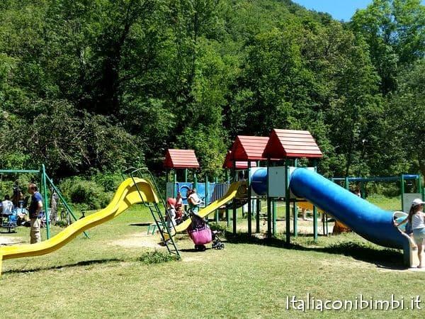 parco giochi a Scanno