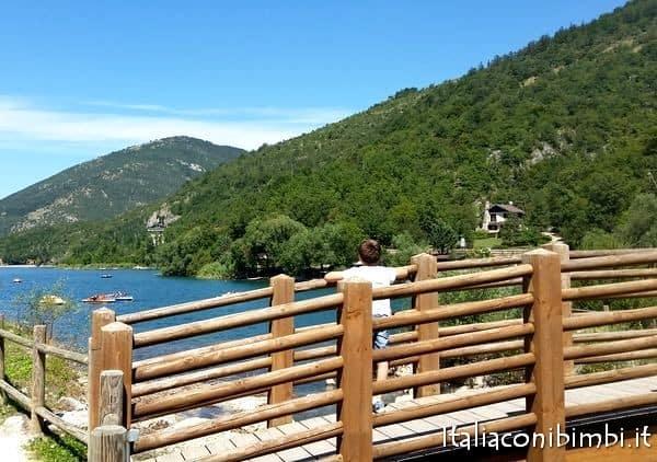 ponte al Lago di Scanno