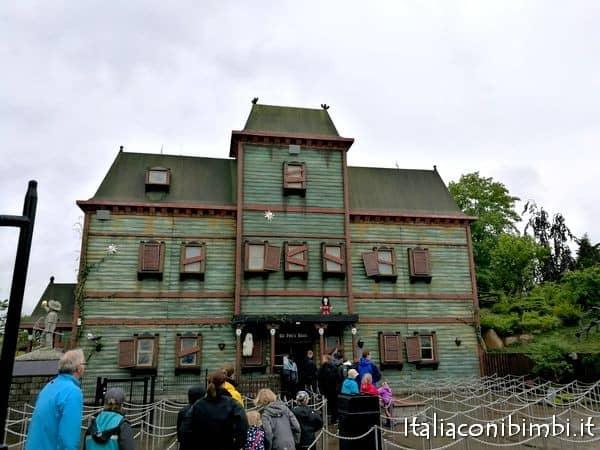 La casa dei fantasmi a Legoland Billund