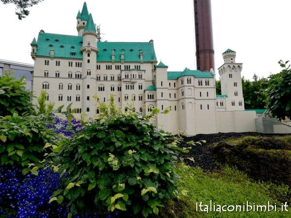 IL castello di Neuschwanstein di MIniland Legoland Billund