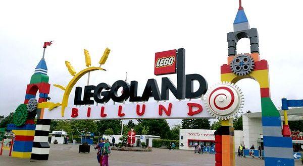Ingresso a Legoland Billund in Danimarca
