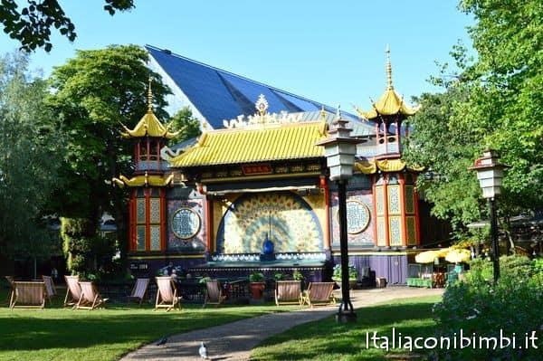 Teatro nei Giardini di Tivoli di Copenaghen