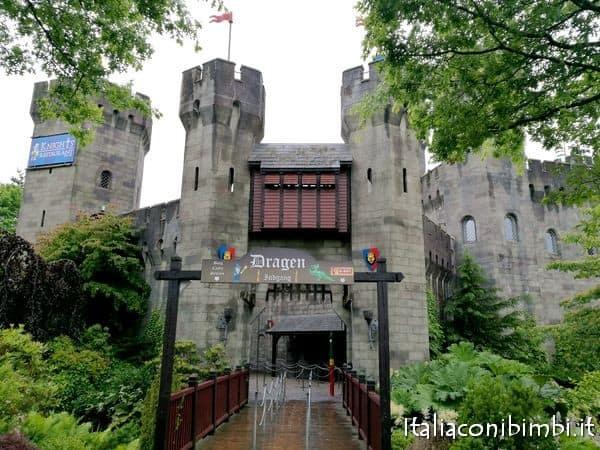 The Dragon nel Knights Kingdom a Legoland Billund Danimarca