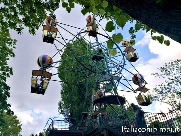 The Ferries Wheel al Parco Tivoli di Copenaghen