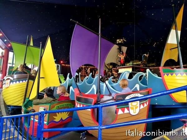 The Galley Ships al Parco Tivoli di Copenaghen