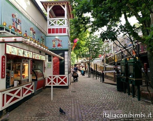 The Roaller Coaster a Tivoli Copenaghen