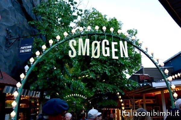Vialetto dei giardini di Tivoli Copenaghen