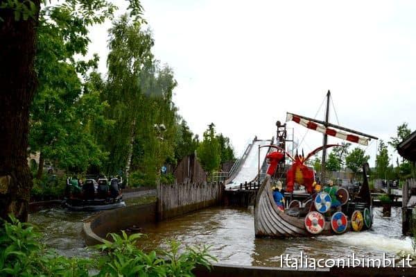 Vickings River Splash a Legoland Billund
