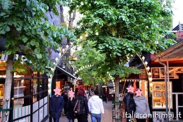 giardini di Tivoli a Copenaghen