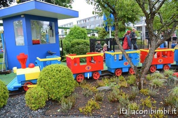 trenino Duplo express a Legoland Billund