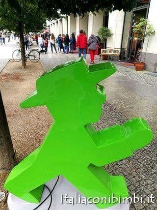 omino del semaforo di Berlino Ampelmannchen