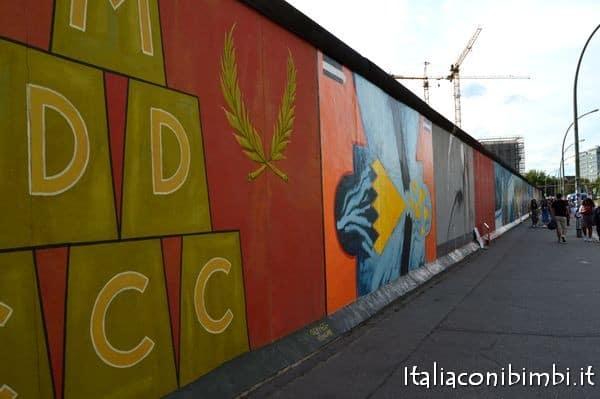 Muro di Berlino East Side Gallery