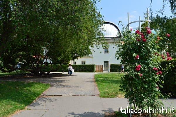 Osservatorio sulla collina di Petřín a Praga