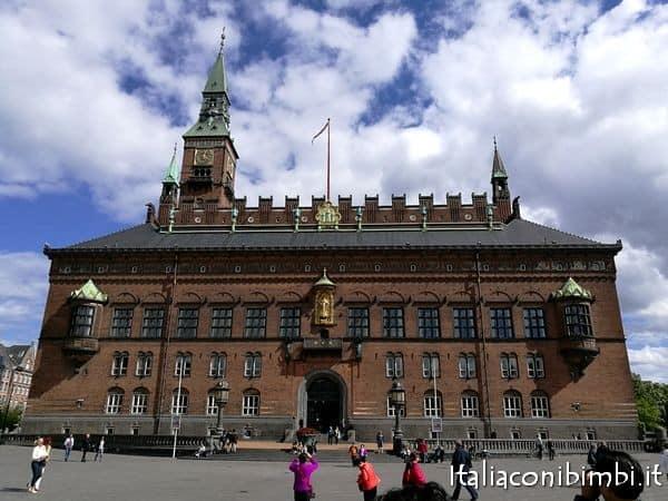il Municipio di Copenaghen