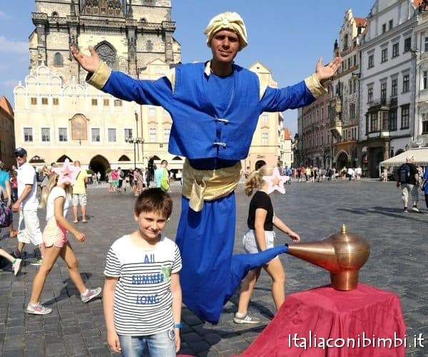 Piazza della città vecchia a Praga