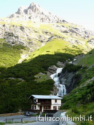 cascata in Valtellina