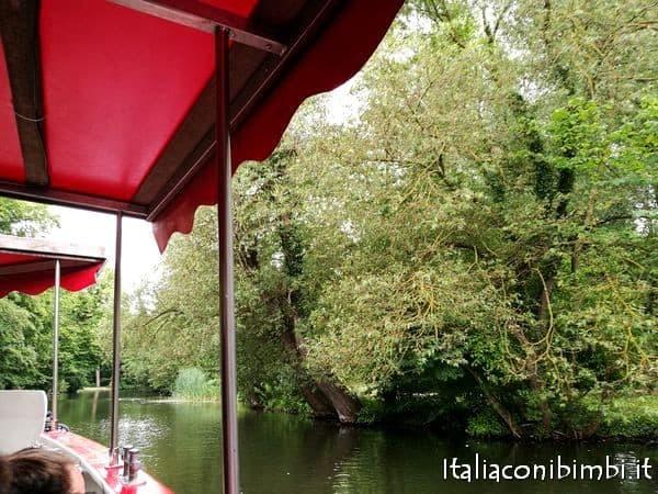 gita sul fiume a Odense