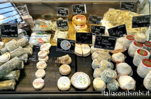 formaggi al mercato coperto di Torvehallerne