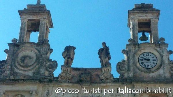 Particolare di Palazzo Sedile a Matera