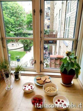 vista dal nostro appartamento a Copenaghen