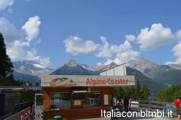 Alpine Coaster Klausberg in Valle Aurina